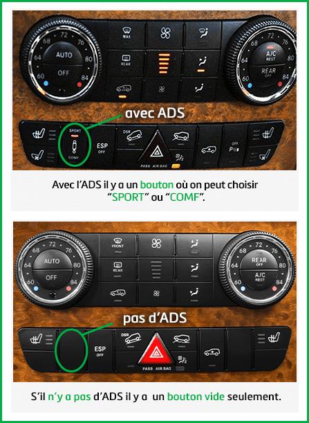 Mercedes-Bens ADS ou pas